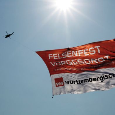 The world record Skybanner of 5000 m²