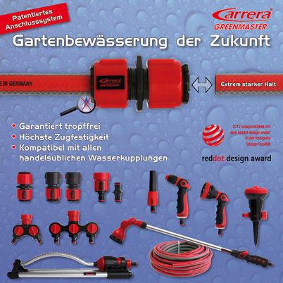 Die Carrera Greenmaster Wassertechnik - eine Produktserie der SILAG Handel AG