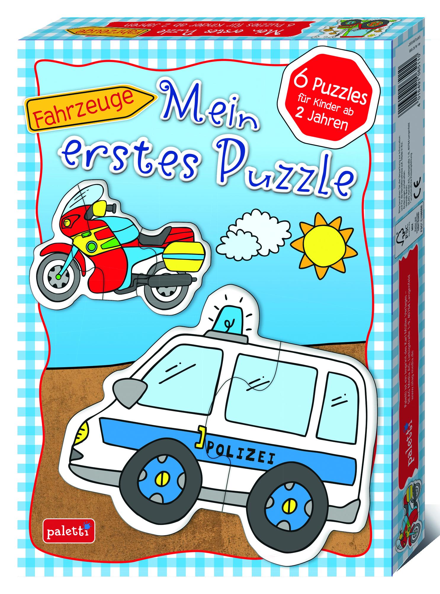 Mein Erstes Puzzle Fahrzeuge