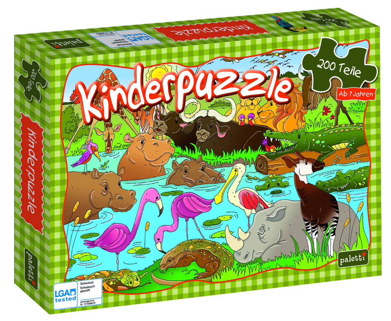 Paletti Puzzle Staffel1 Safari