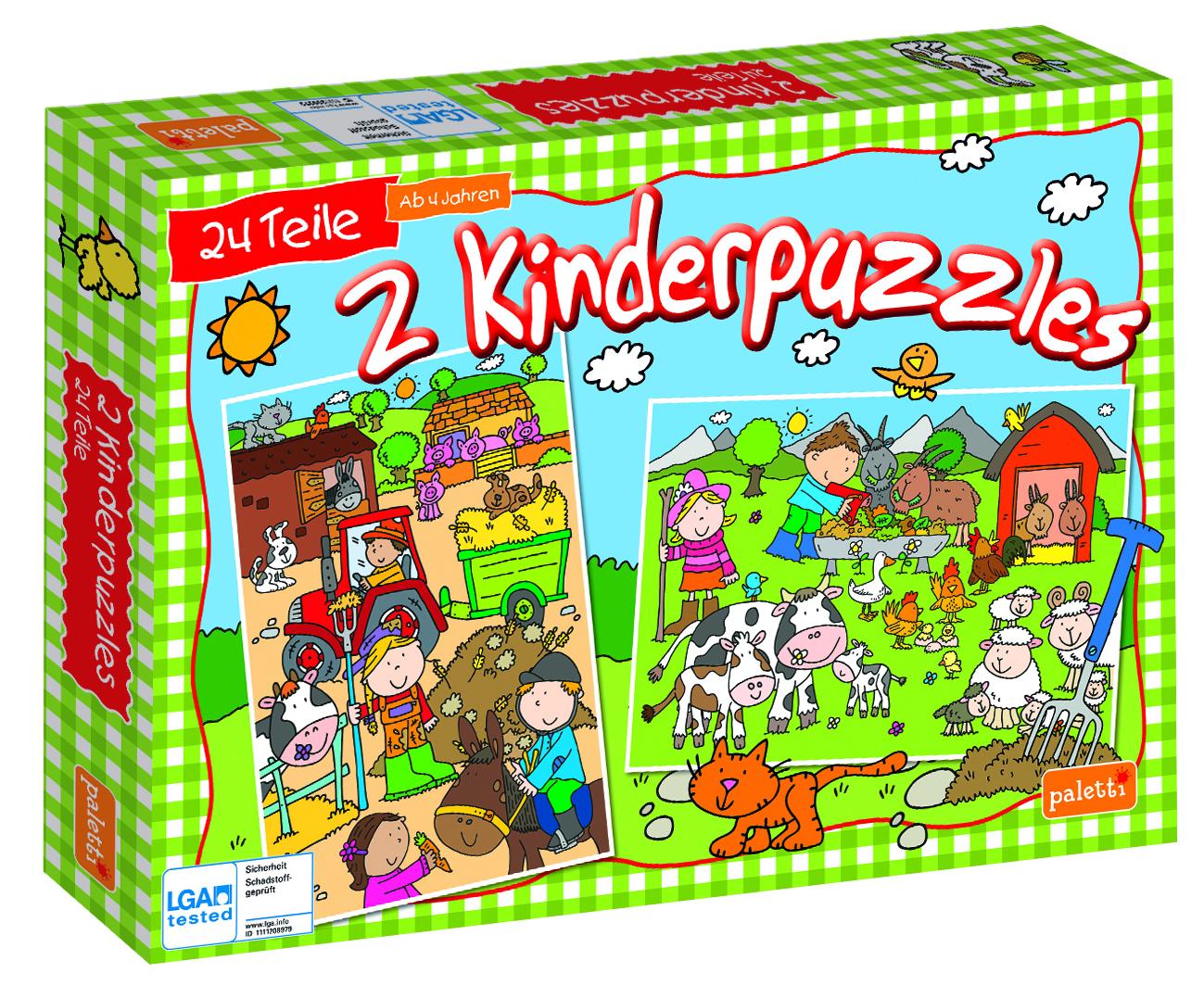 Paletti Puzzle Staffel1 Bauernhof