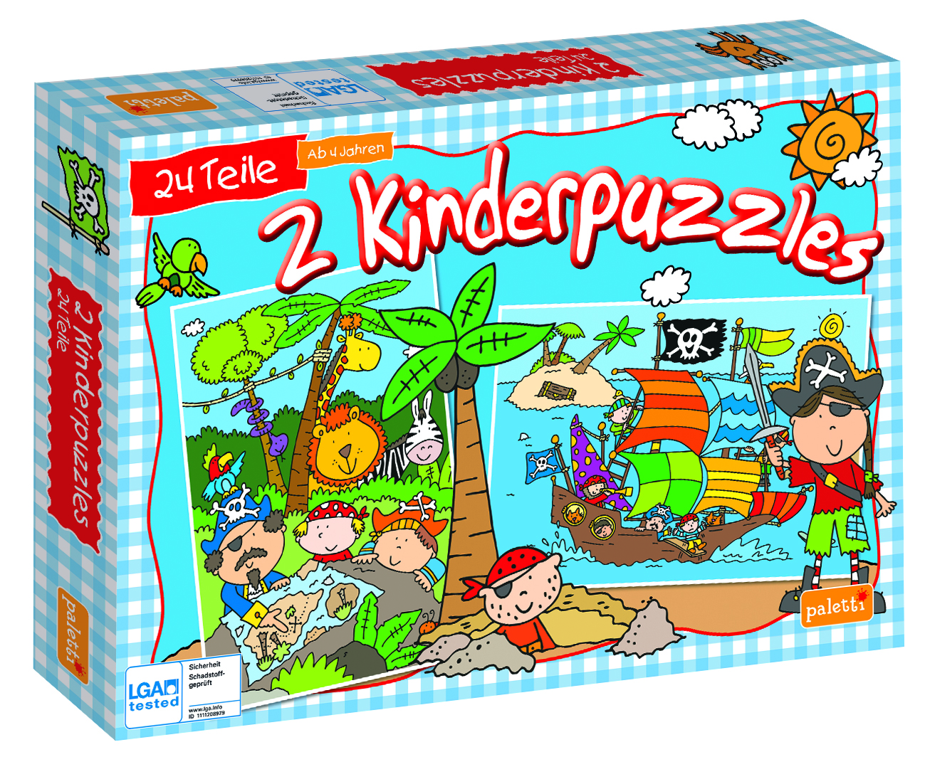 Paletti Puzzle Staffel1 Piraten