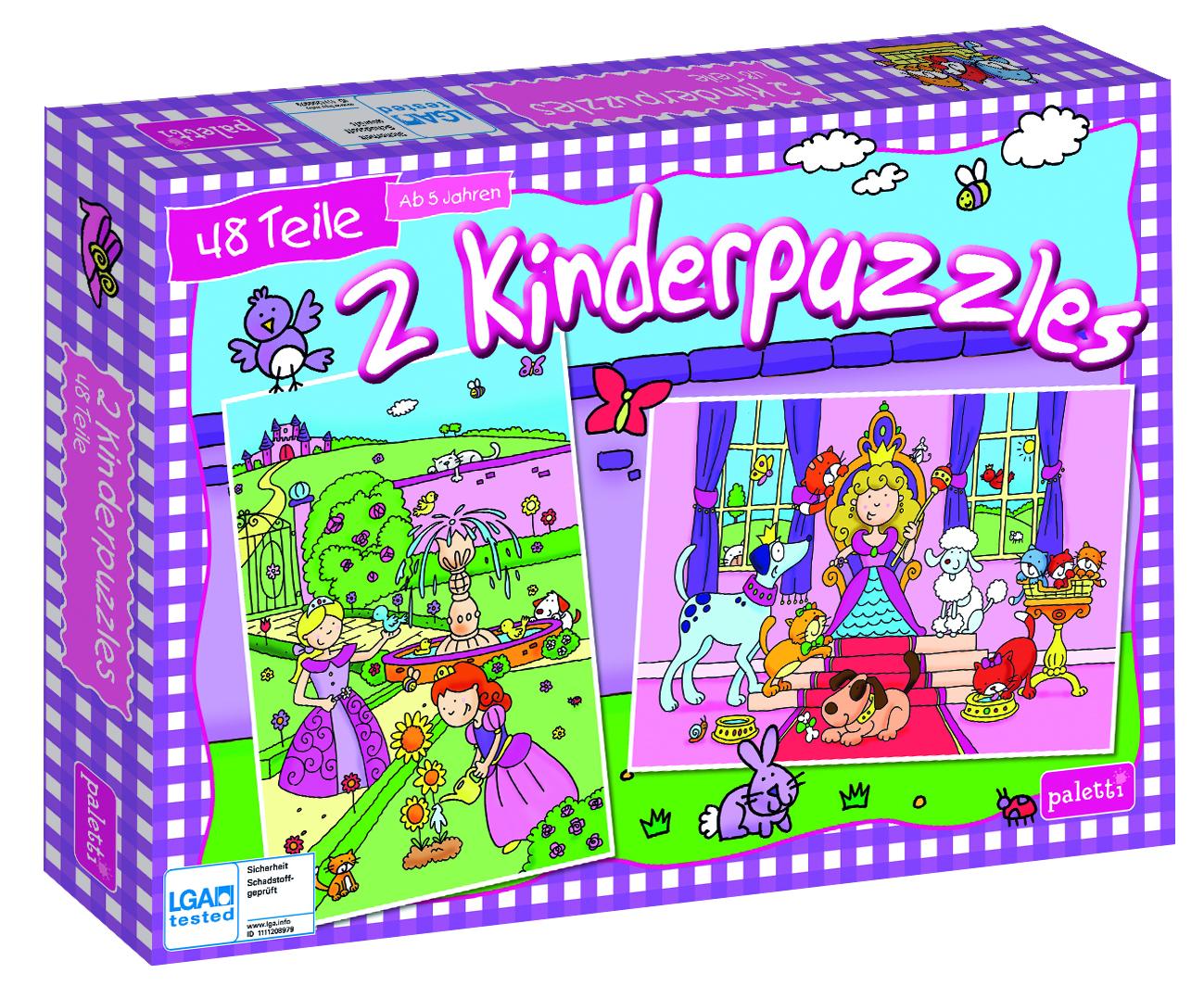 Paletti Puzzle Staffel1 Prinzessinnen