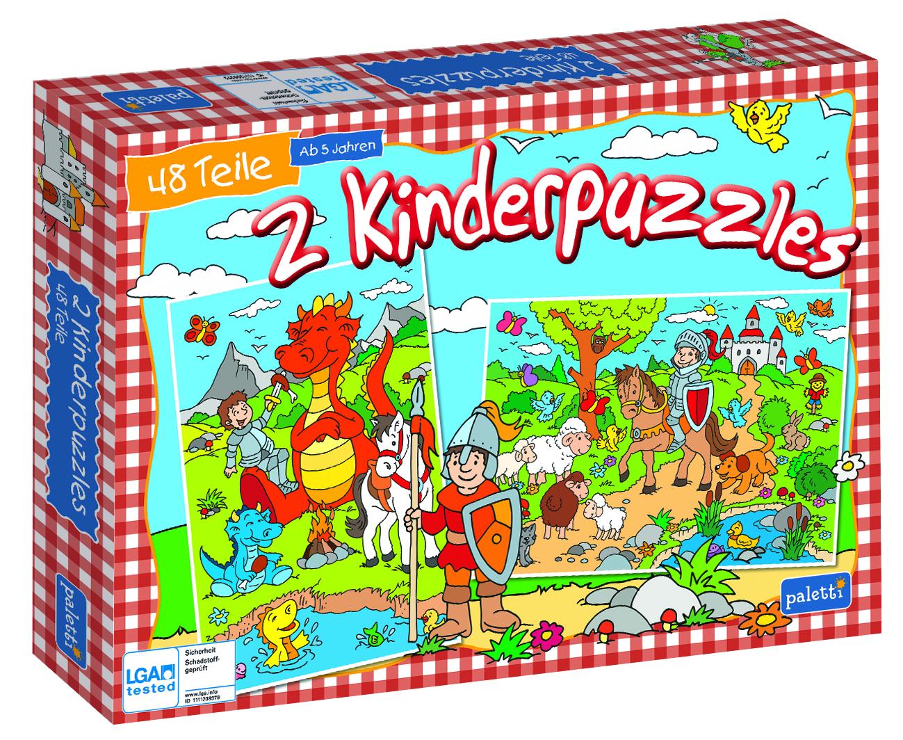 Paletti Puzzle Staffel1 Ritter